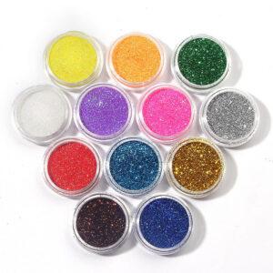 Set 12 Geluri Color Glitter Miley