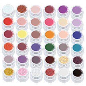 Set 36 Geluri Color Lila Rossa