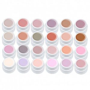Set 24 Geluri Color Miley Natural