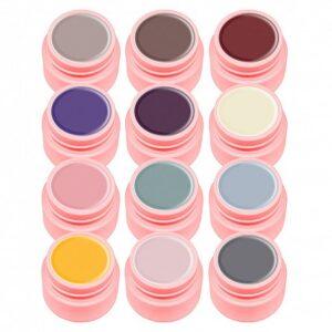 Set 12 Geluri Color Canni Natural
